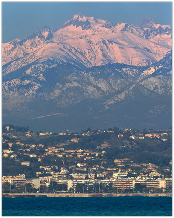 Nice depuis Cagnes/Mer le 06-02-2012
